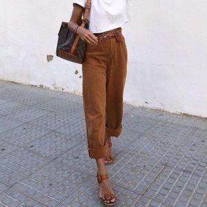 Zara high waist brand new wide leg
